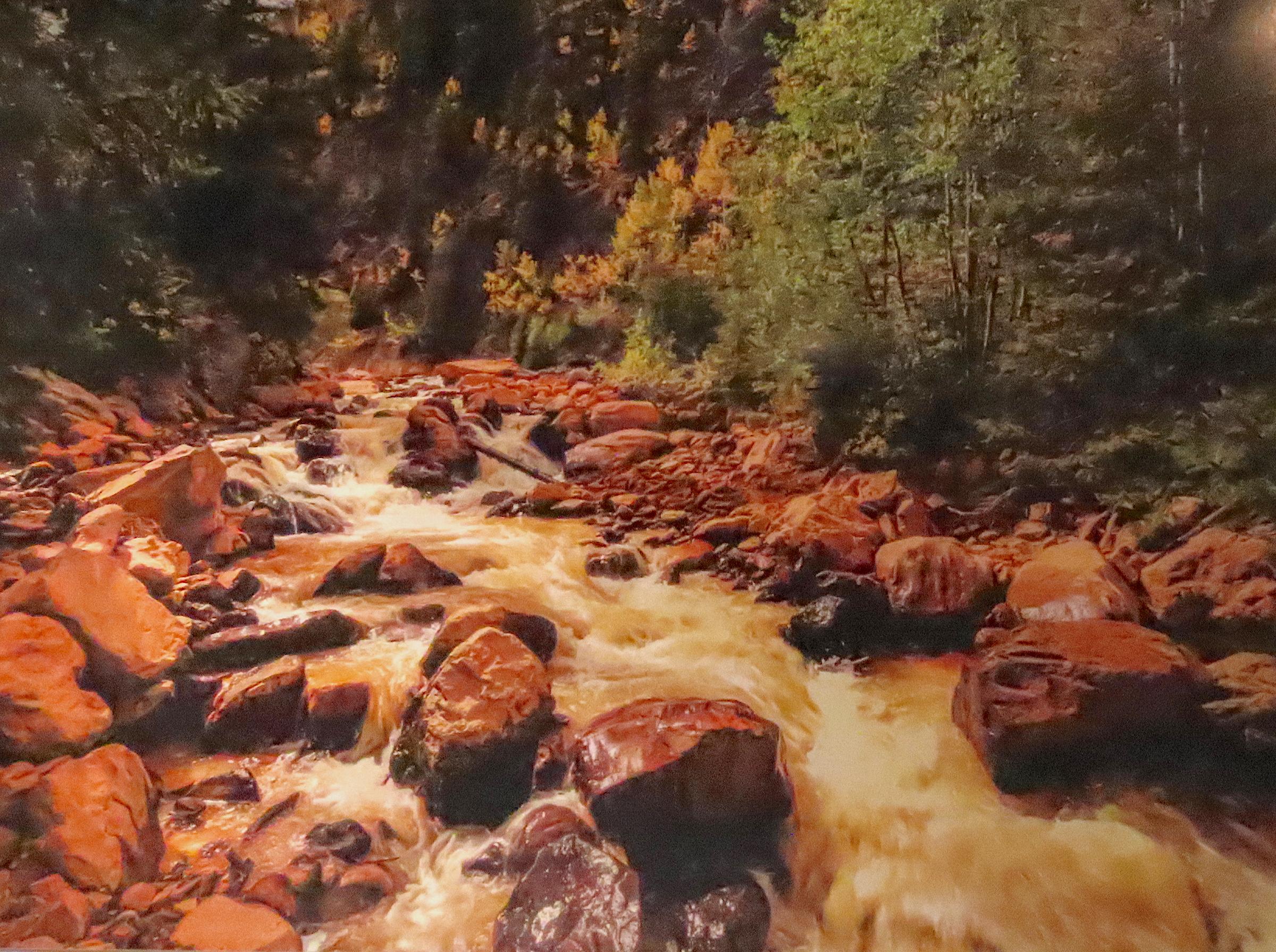 """Red Mountain Creek"" by Rick Jones"